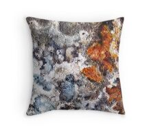 Rust Two Throw Pillow