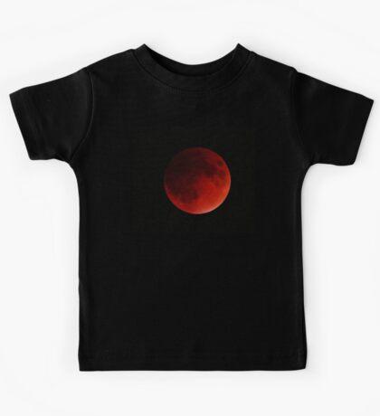 Blood Moon Eclipse Kids Tee