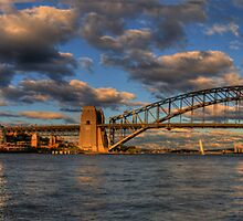 The Coathanger - Sydney Harbour,Sydney Australia (50 Exposure Panorama) - The HDR Experience by Philip Johnson