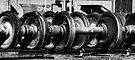 """Wheels on the track go..."" by KBritt"