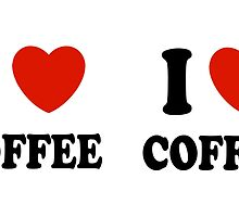 I Love Coffee by Lallinda