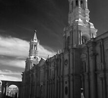 basilica cathedral arequipa peru by gruntpig