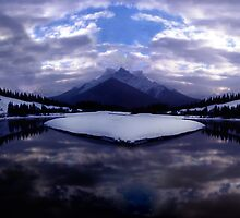 Spray Lake, Canmore, Alberta, Canada by Rory Underwood