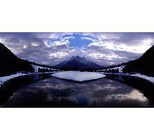 Spray Lake, Canmore, Alberta, Canada Photographic Print