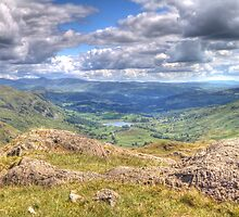 Little Langdale From Wrynose by cannonedale