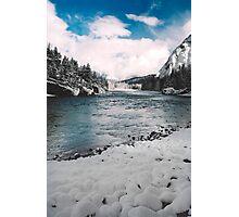 Bow Falls, Banff, Canada Photographic Print