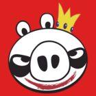 The Joker Vs. Angry Pig by deadlyfingers