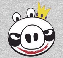 The Joker Vs. Angry Pig Baby Tee