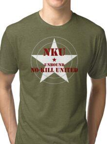 NO-KILL UNITED : UB-MWG Tri-blend T-Shirt