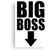 Big Boss Canvas Print