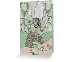 Guardian of the Earth (2) Greeting Card