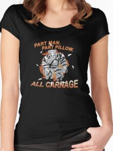 Pillow Man Carnage! Women's Fitted Scoop T-Shirt
