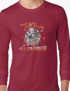 Pillow Man Carnage! Long Sleeve T-Shirt