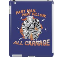 Pillow Man Carnage! iPad Case/Skin