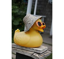 Cool Ducky Photographic Print