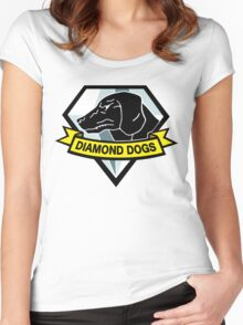 Diamond Women's Fitted Scoop T-Shirt