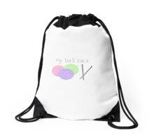 my ball sack Drawstring Bag