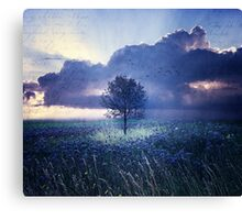 Lonely Won't Leave Me Alone Canvas Print
