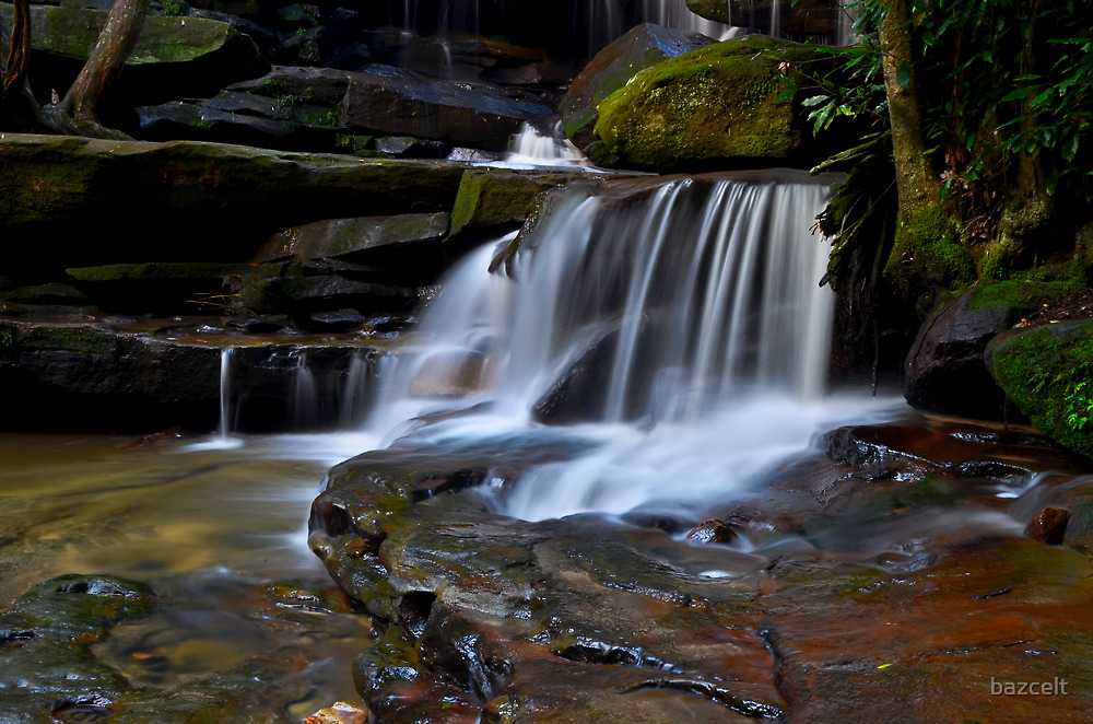 Little Cascade, Somersby Falls by bazcelt