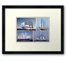 Tall Ships Races  Framed Print