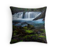 Fall Creek Falls Throw Pillow