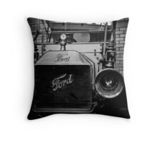 Ford Of Old  Throw Pillow