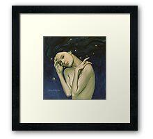 """Virgo""...from ""Zodiac signs"" series Framed Print"
