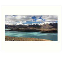 Lake Tekapo and the Southern Alps Art Print