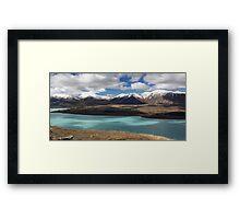 Lake Tekapo and the Southern Alps Framed Print