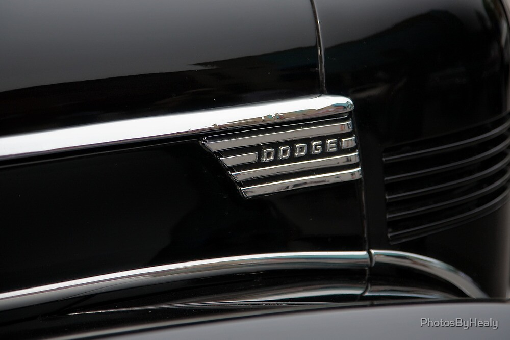 1939 Dodge D11 Luxury Liner Emblem by PhotosByHealy