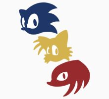 Sonic, Tails & Knuckles by Photosmagoria