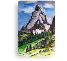 The Matterhorn Zermatt Switzerland Canvas Print