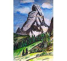 The Matterhorn Zermatt Switzerland Photographic Print