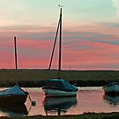 Blakeney Boats by Beverley Barrett