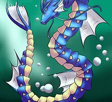 Twisting Fish Dragon by Sootbird