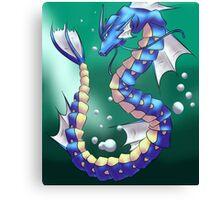 Twisting Fish Dragon Canvas Print