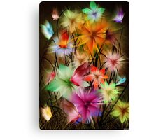 fantasy flower world Canvas Print