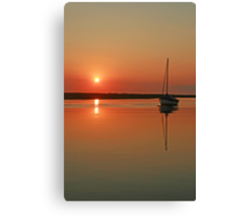 Sunset at Blakeney Canvas Print