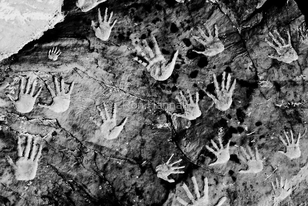 Hands On The Rock by Ron Hannah