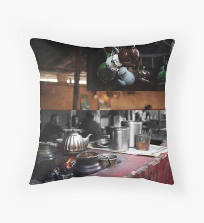 Chai [tea] Throw Pillow