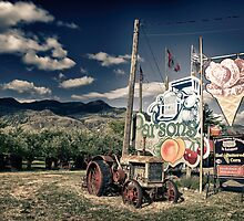 Parson's Fruit Stand ,Keremeos British Columbia by peaceofthenorth