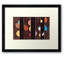 Barnacles Framed Print