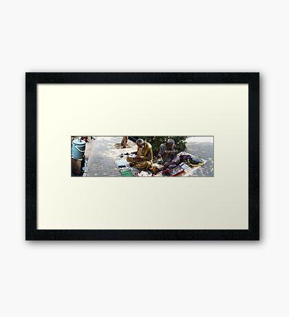 Street Smart Framed Print