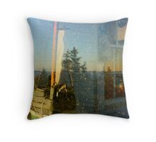 Everything in the Window Throw Pillow