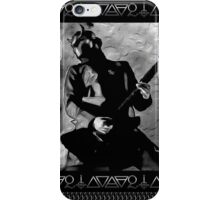 NAMELESS GHOULS PLACARD iPhone Case/Skin
