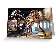 Funky Parasaurolophus Greeting Card