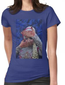 wedding hijab Womens Fitted T-Shirt