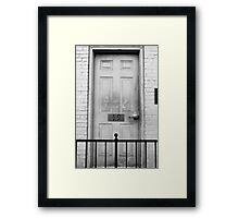 19 Framed Print