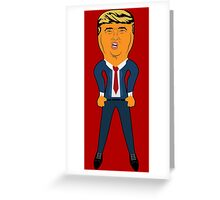 Blow Trump Doll Greeting Card
