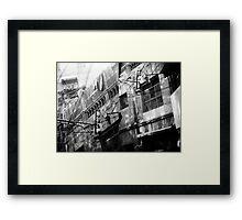 Memories Vanishing Framed Print